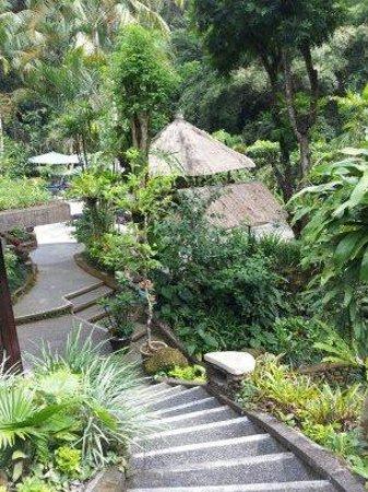 Hotel Tjampuhan & Spa: Steps