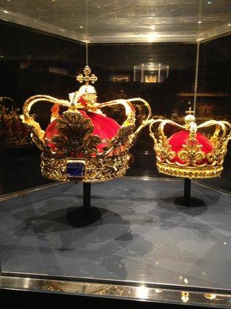 Schloss Rosenborg: Gioielli della Corona danese