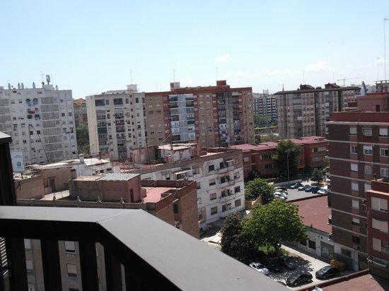 Pio XII Apartments Valencia: Visuale dal balcone dell'appartamento