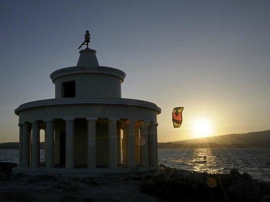 Ammes Apartments: Tramonto al faro di Argostoli