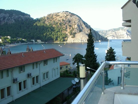 My Meric Hotel: view from the pool over Turunc