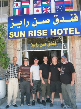 Sun Rise Hotel: Outsie our Hotel