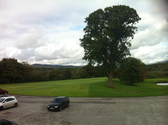 Cally Palace Hotel: First Tee from room 109