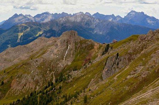 Rifugio Roda di Vaèl : Blick zurück