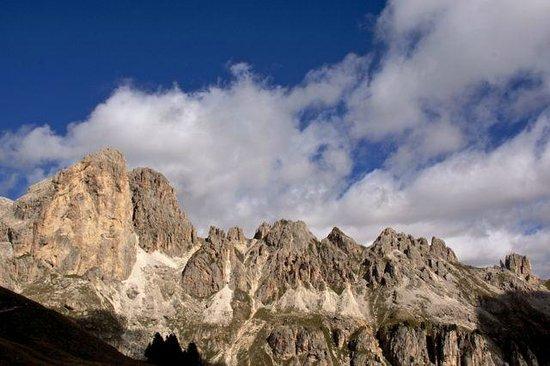 Rifugio Roda di Vaèl : der Blick schweift in die Runde