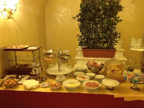 Champagne Garden Hotel: Same breakfast buffet every day