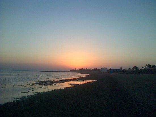 SENTIDO Oriental Dream Resort : lever du soleil