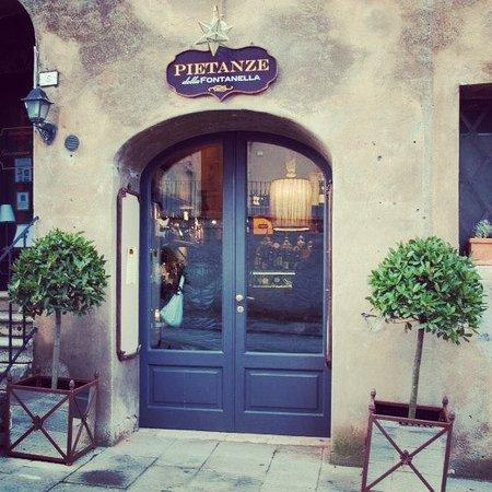 San Casciano dei Bagni, Ιταλία: Ingresso negozio