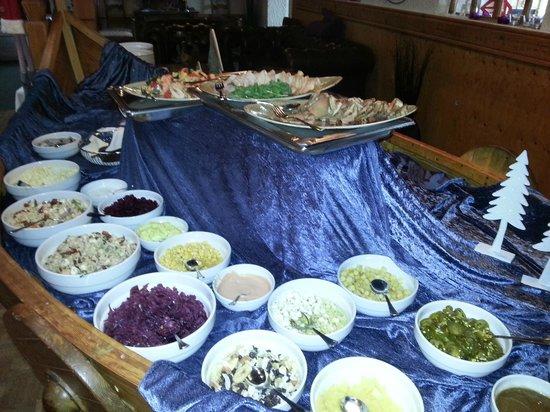 Hotel Geysir : buffet froid