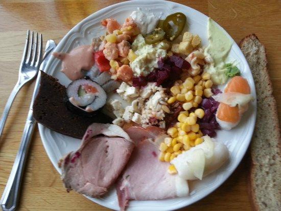 Hotel Geysir : assiette
