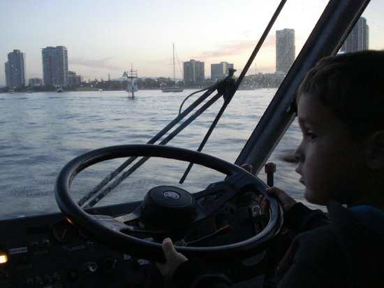 Aquaduck: Kids get to go in the driver's seat