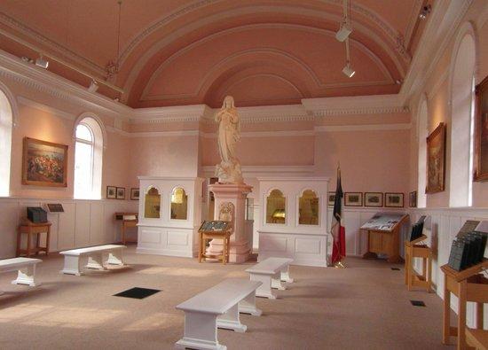 Grand-Pré, lieu historique national : church interior