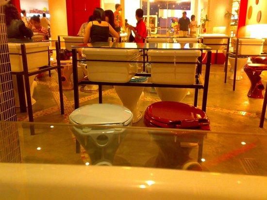 Superb Odd Interior Decor Picture Of T Bowl Toilet Bowl Concept Machost Co Dining Chair Design Ideas Machostcouk
