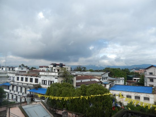 Hotel Tibet: view from room