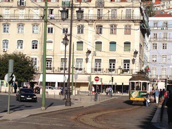 Pensao Praca da Figueira: piazza
