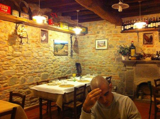 Agriturismo La Colombaia: saletta ristorante