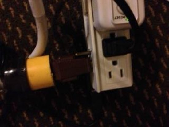 Gran Hotel Costa Rica : Electric problems