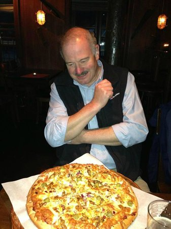 Anker Brygge: I had no idea the pizza would be this large