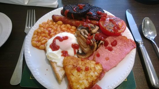 Cherry Tree House Hotel: Breakfast time, double yum yum.