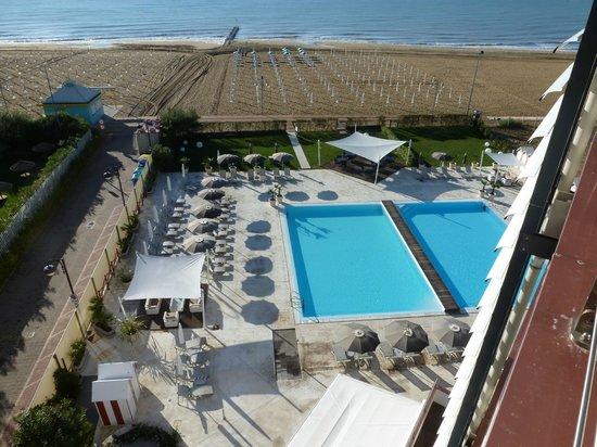Adriatic Palace Hotel: Blick vom Balkon