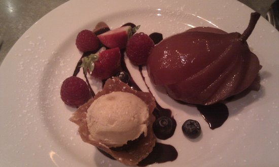 Auberge Brasserie: Poached Pear