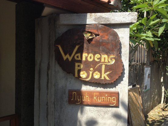 Warung Pojok: At the corner of the soccer field in nyuh kuning village