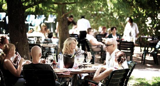 Backsberg Restaurant: Outdoors