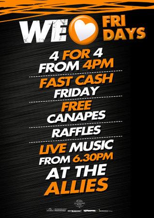 Allenstown Hotel: We <3 Friday's
