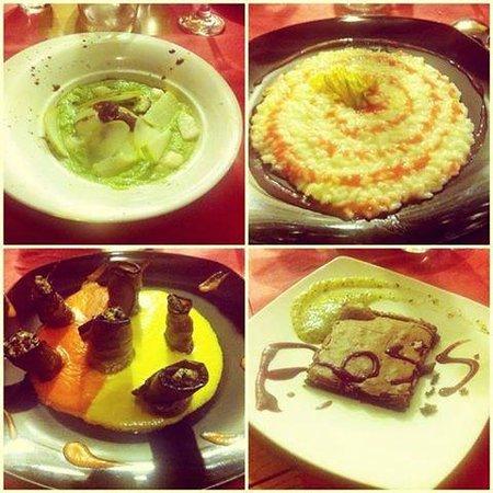 Agape Della Spezia: piati serali