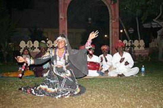Inder Residency: evening time