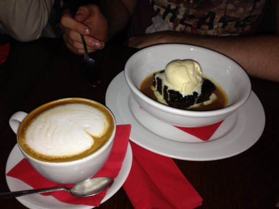 The Table: Sticky toffee pudding with vanilla ice cream