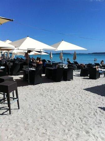 Restaurant Playa Baggia : avant saison et après saison