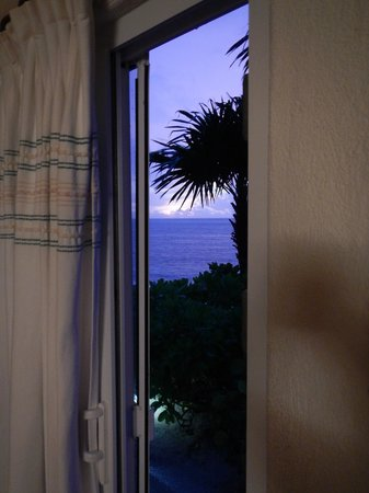 Villa Dolce Vita - Soliman Bay: View out the sliding glass door of the lower room!
