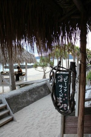 Amami Resort Bashayamamura : View from beach bar