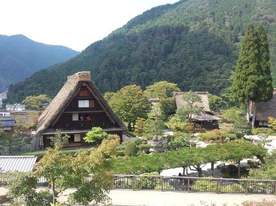 Gero Onsen Gasshomura : 高台からの景色