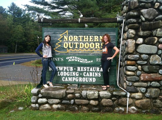 Northern Outdoors Adventure Resort : The good old Northern sign