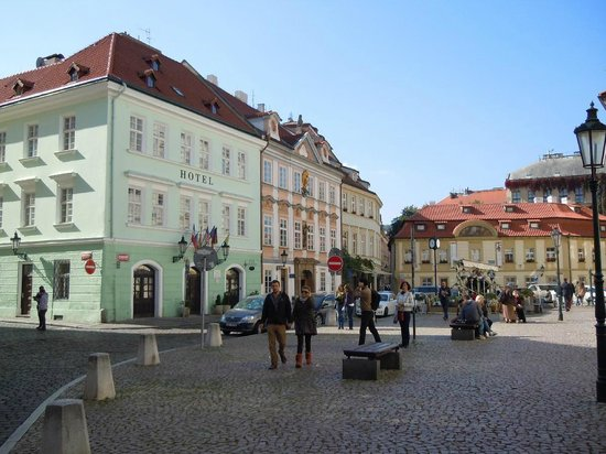 Happy Prague Apartments: 1-Prague--Place-Betlemska-Namesti