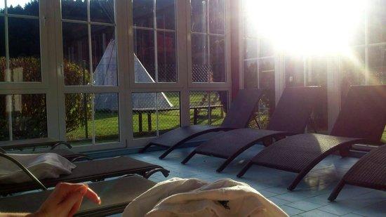Sporthotel Zaton: Swimming surroundings