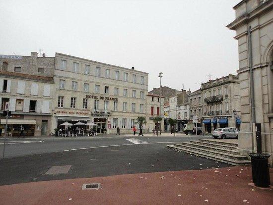 Citotel de France: Ein Hotel im Herzen der Stadt Rochefort