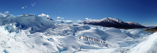 Intendencia Parque Nacional Los Glaciares: Mini Trecking Activity at Perito Moreno Glacier