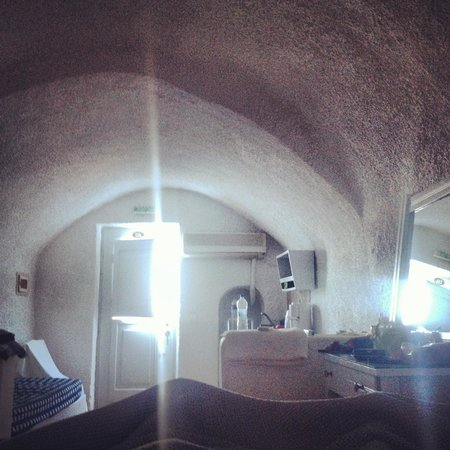 โรงแรมซันนี่วิลลา: View on waking in the mornings