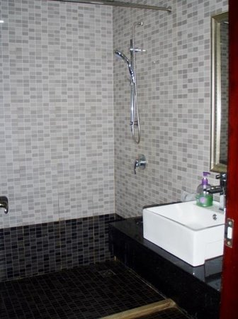 Longchuan County, China: bathroom
