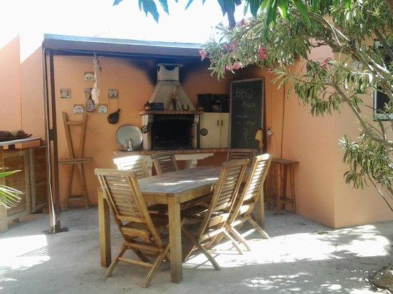 Villa Punta Salina: Zona de BBQ