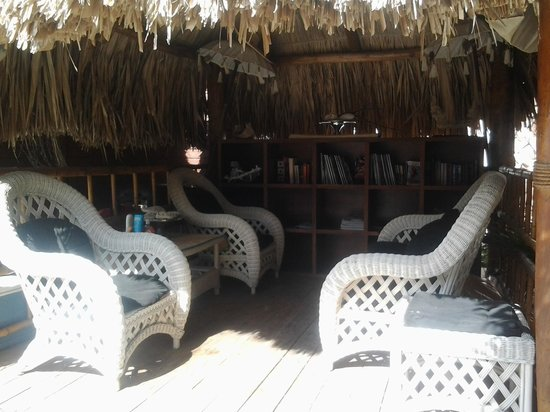 Villa Punta Salina: Gazebo / Zona de lectura