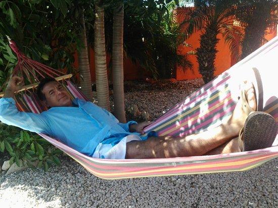 Villa Punta Salina: Hamaca!!