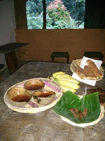 Rainforest Retreat : Tea upon arrival