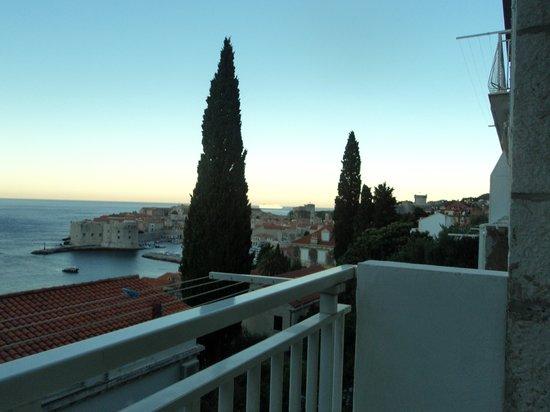 Apartments Banje Beach: Sunset from balcony