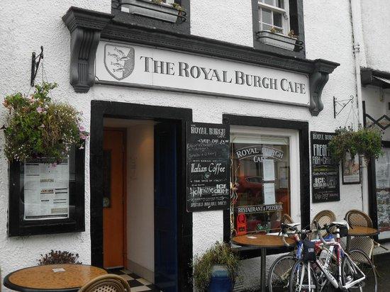 Royal Burgh Cafe: esterno