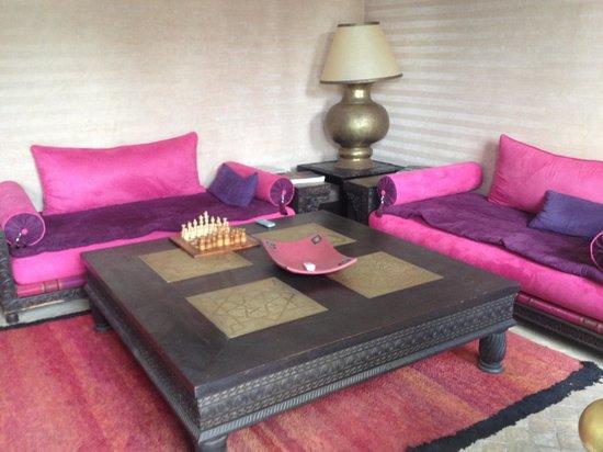 Riad Pachavana: salon interieur