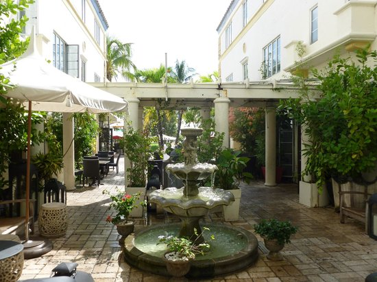 Hotel Ocean: Courtyard